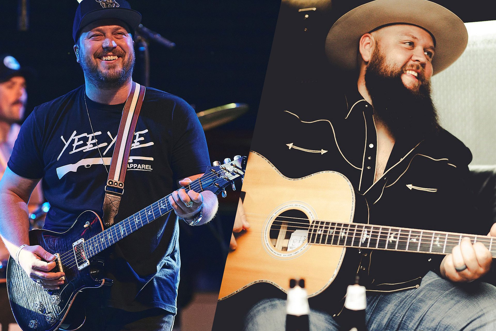 New Country Albums From PRS Artists Mitchell Tenpenny and Larry Fleet