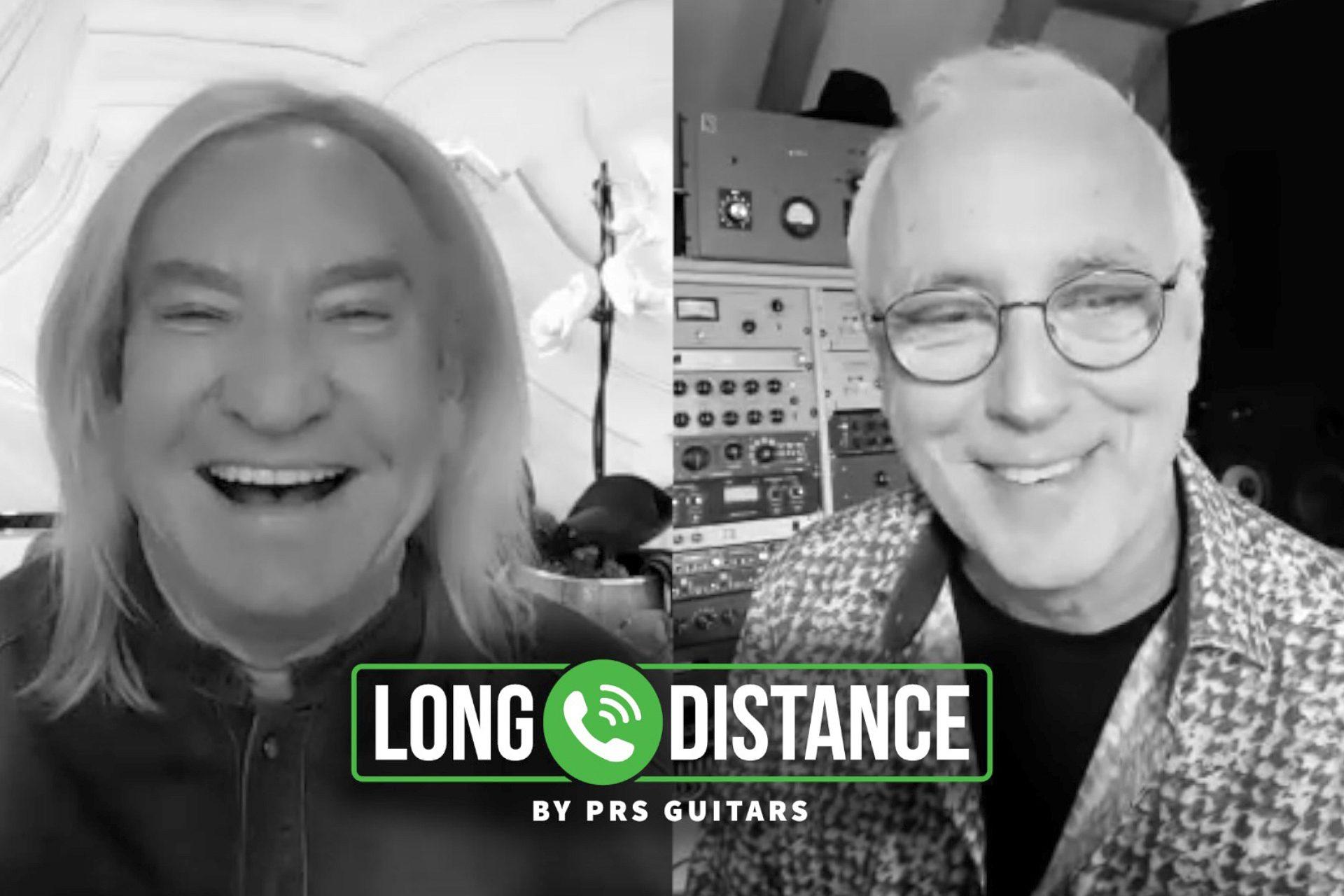 New Episode of Long Distance! Paul Calls Joe Walsh