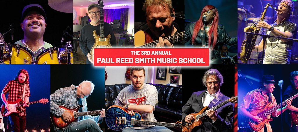 Paul Reed Smith's 3rd Annual Music School at Maryland Hall