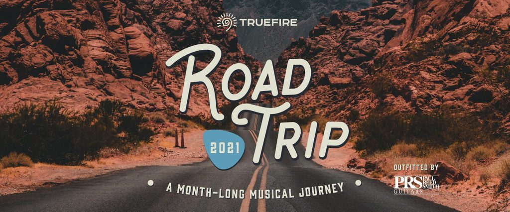 TrueFire Road Trip 2021 Outfitted by PRS Guitars