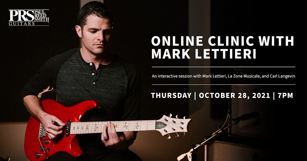 Online Clinic with Mark Lettieri