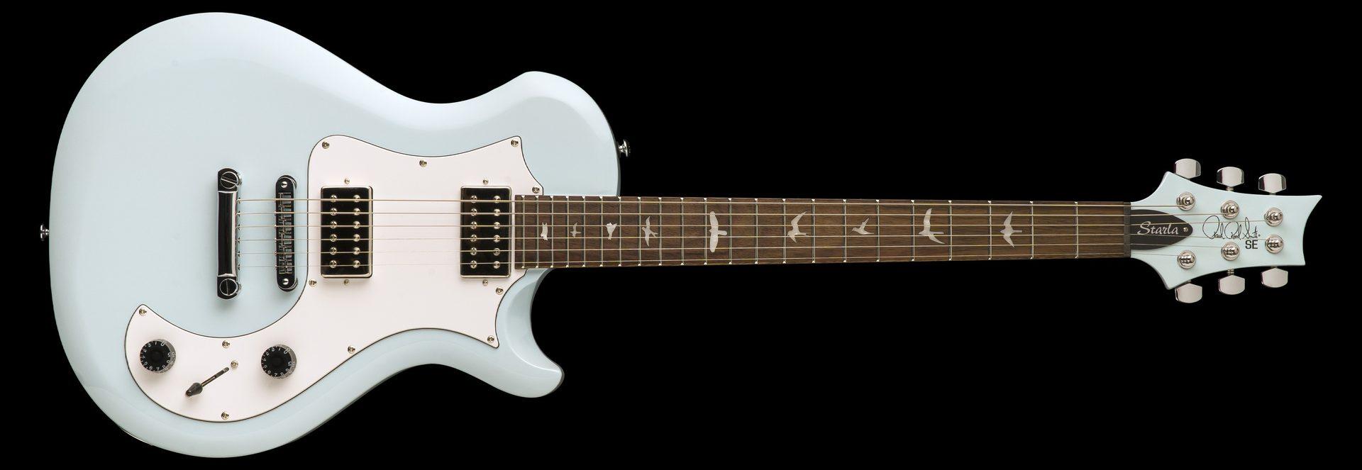 Powder Blue w/White Pickguard